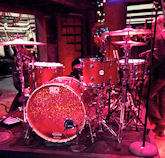 Drumset from Jimmy Fallon setup.