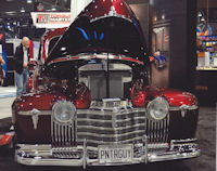 November 5-8, 2013, 2013 SEMA Show at the Las Vegas Convention Center - Jon Kosmoski, World renowned custom painter and founder of House of Kolor